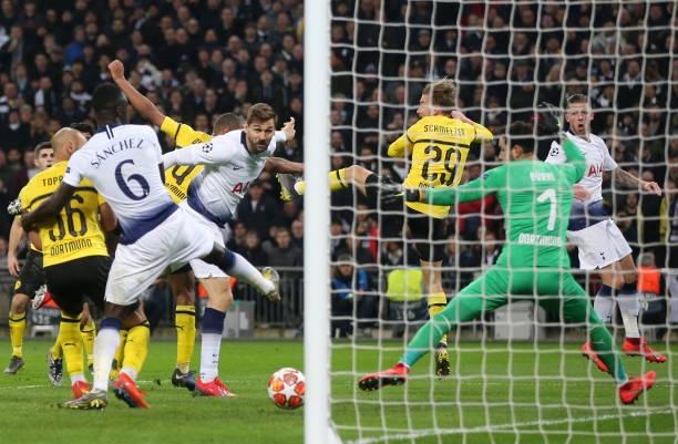 Tottenham vs Dortmund,  Pochettino,  Son Heung-min,  Champions League anh 2