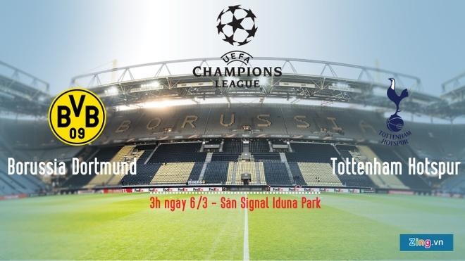 Dortmund vs Tottenham anh 1