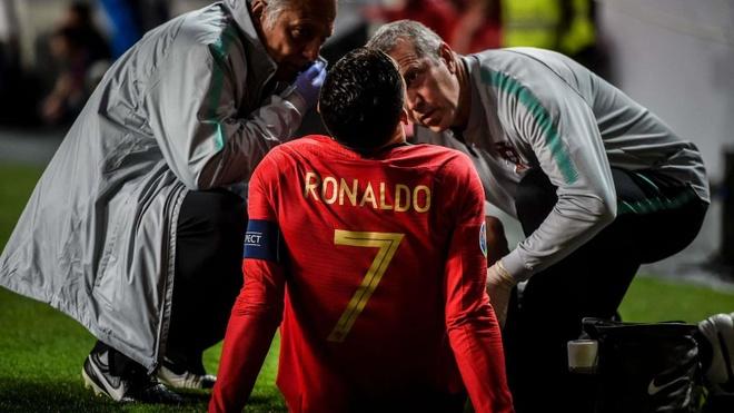 Chan thuong cua Ronaldo khien Juventus gap kho tai Champions League hinh anh 1