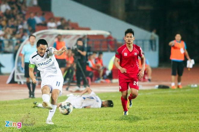 HAGL,  Hai Phong,  V.League 2019,  Tuan Anh,  Van Toan anh 1