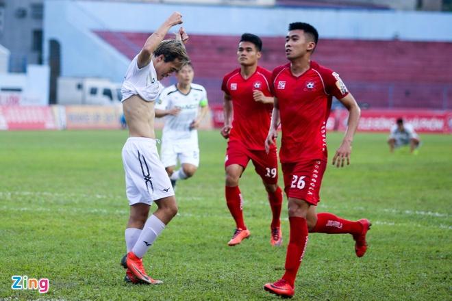 HAGL,  Hai Phong,  V.League 2019,  Tuan Anh,  Van Toan anh 2
