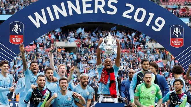 Pep Guardiola,  Man City,  Kompany,  FA Cup,  vo dich,  an 3 anh 1