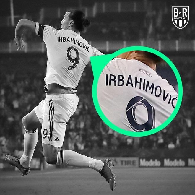 Ibrahimovic,  Ibra lap cu dup,  LA Galaxy,  Man Utd,  da nut chai anh 1