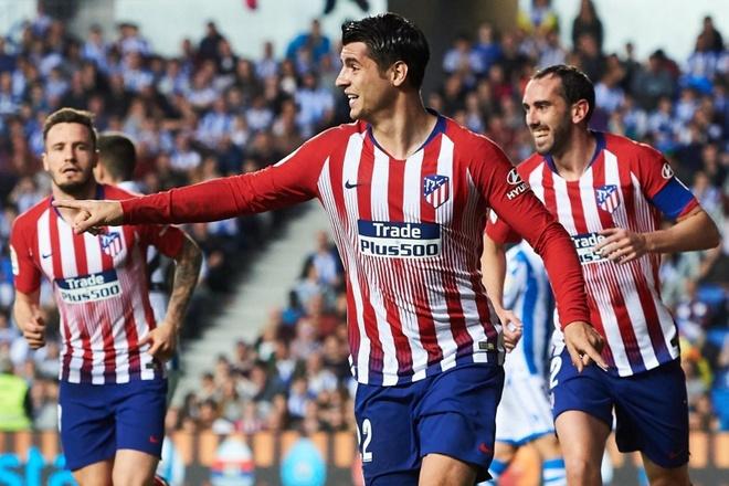 Kết quả hình ảnh cho Morata chính thức là người của Atletico