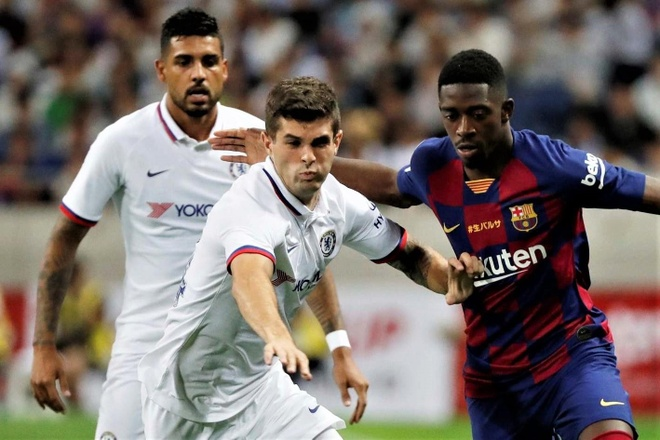 Highlights Barca 1-2 Chelsea: Rakitic ghi ban dep mat hinh anh