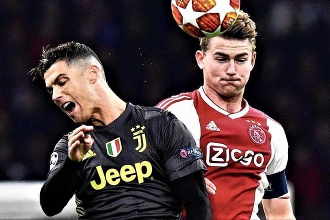 De Ligt: 'That vinh du khi duoc Ronaldo moi den Juventus' hinh anh