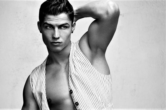 Ronaldo: 'Neu khong da bong, toi se lam dien vien hoac nguoi mau' hinh anh