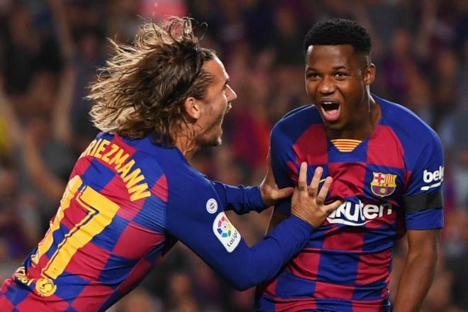 Sao trẻ 16 tuổi đi vào lịch sử sau chiến thắng của Barca