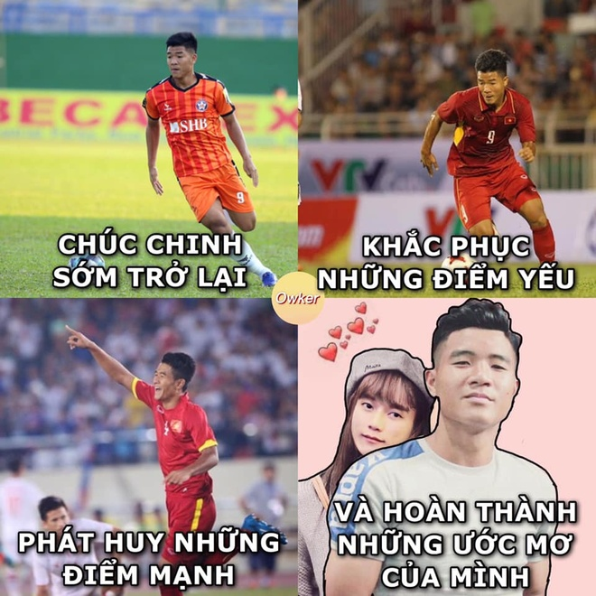 Dong doi va nguoi ham mo gui loi chuc mung sinh nhat Duc Chinh hinh anh 4