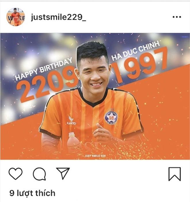 Dong doi va nguoi ham mo gui loi chuc mung sinh nhat Duc Chinh hinh anh 3