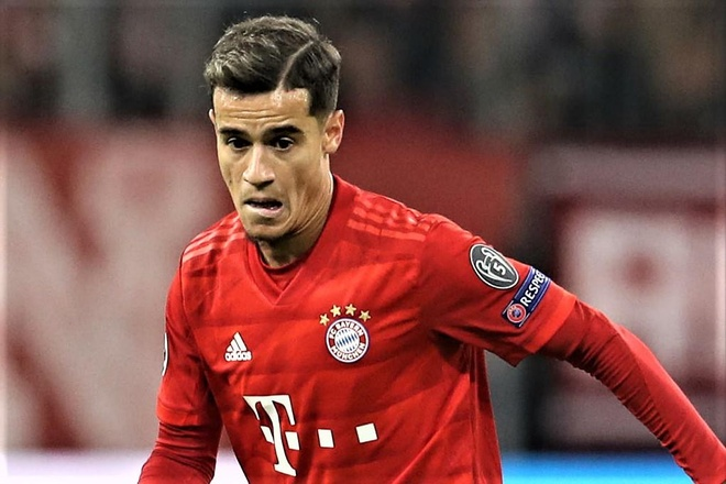 Coutinho ghi ban dau tien cho Bayern Munich hinh anh