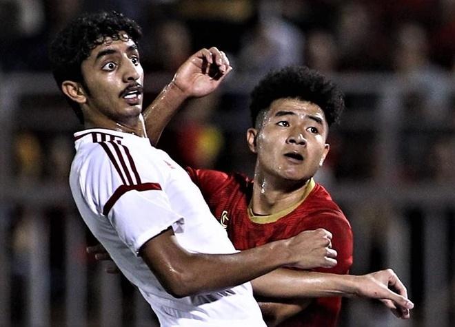Highlights: U22 Viet Nam 1-1 UAE hinh anh