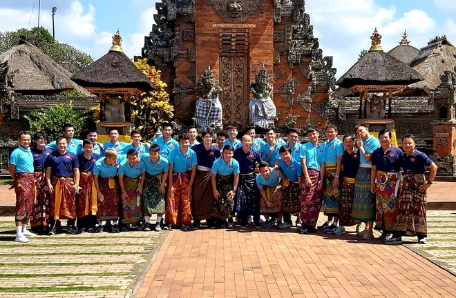 Tuyen Viet Nam tham quan Bali sau chien thang truoc Indonesia hinh anh 1