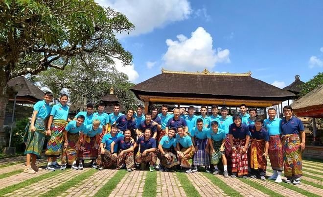 Tuyen Viet Nam tham quan Bali sau chien thang truoc Indonesia hinh anh 2