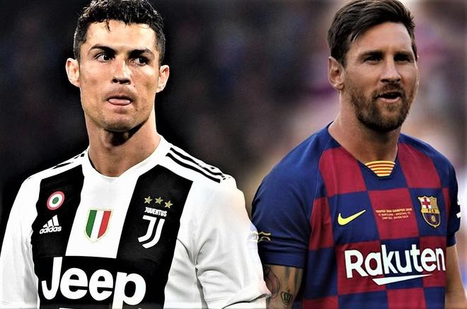 Ronaldo va Messi thay doi the nao qua cac doi game FIFA hinh anh