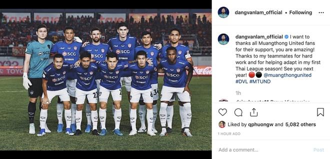Van Lam cam on su ung ho cua fan Muangthong United hinh anh 1