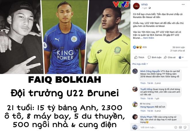 Dan mang tim kiem cau thu Brunei giau hon Ronaldo hinh anh 1