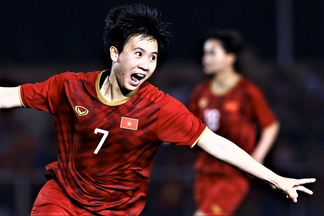 Highlights bong da nu SEA Games 30: Philippines 0-2 Viet Nam hinh anh