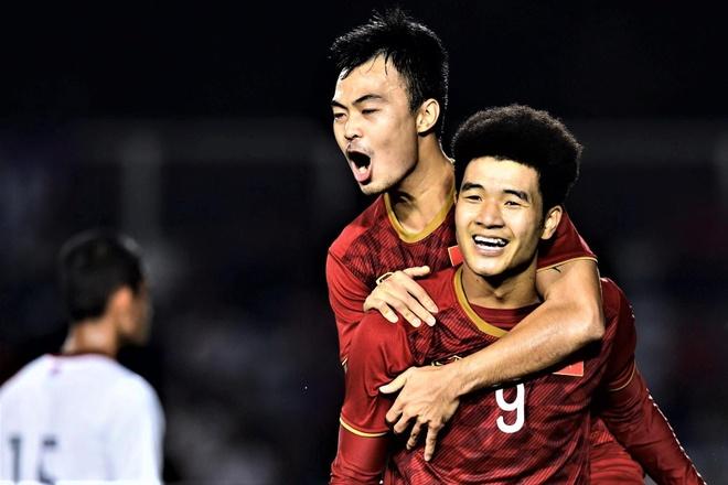 Highlights SEA Games 30: U22 Viet Nam 4-0 U22 Campuchia hinh anh