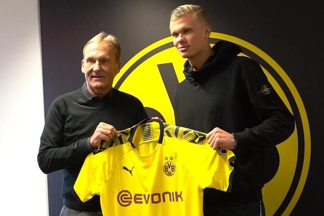 Dortmund mất 15 triệu euro hoa hồng cho Raiola để có Haaland