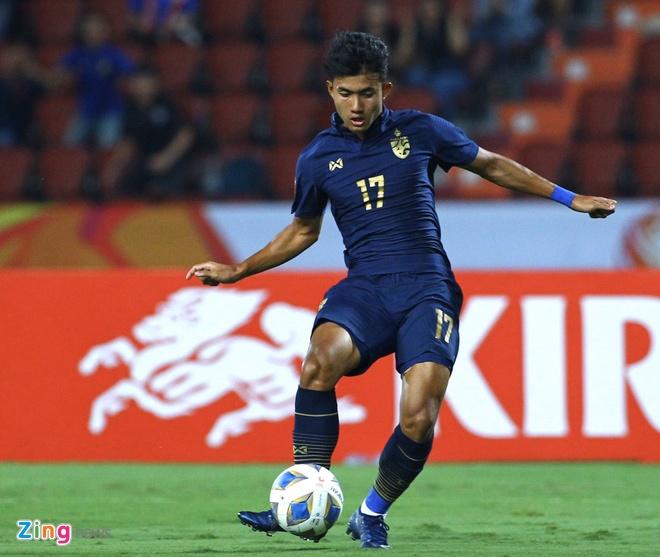 Suphanat: 'U23 Thai Lan khong he cam thay ap luc' hinh anh 1 suphanat_zing.jpg