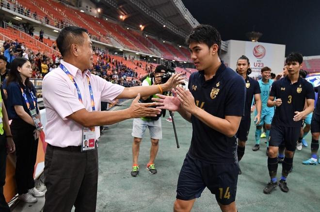 U23 Thai Lan duoc thuong lon sau khi gianh ve vao tu ket hinh anh 1 somyot.jpg