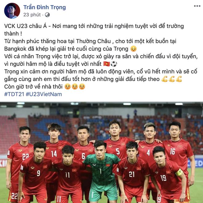 Cau thu chia se sau that bai tai U23 chau A anh 1