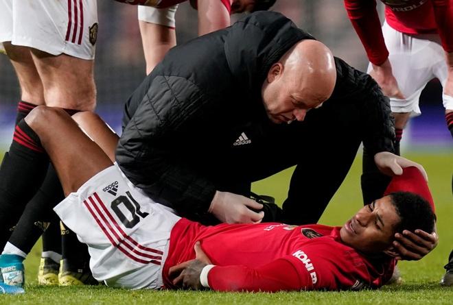 Man Utd nhan tin xau ve chan thuong cua Rashford hinh anh 1 rashford.jpg