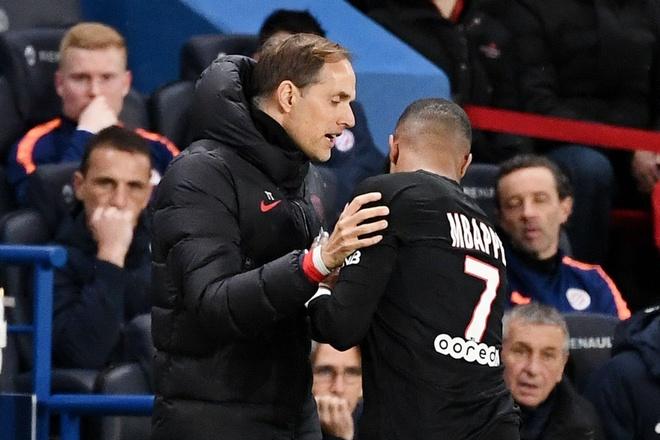 HLV PSG: 'Khong co mau thuan ca nhan giua toi va Mbappe' hinh anh 1 mbappe_2.jpg