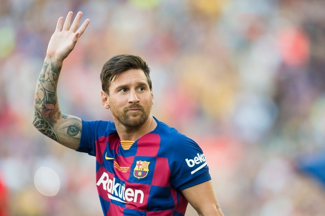 Messi roi Barca anh 1