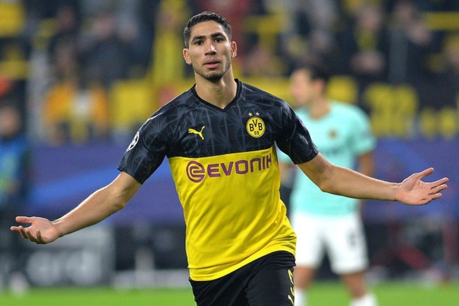 Hakimi roi Dortmund anh 1