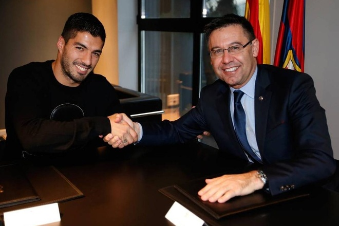 Luis Suarez roi Barca anh 1
