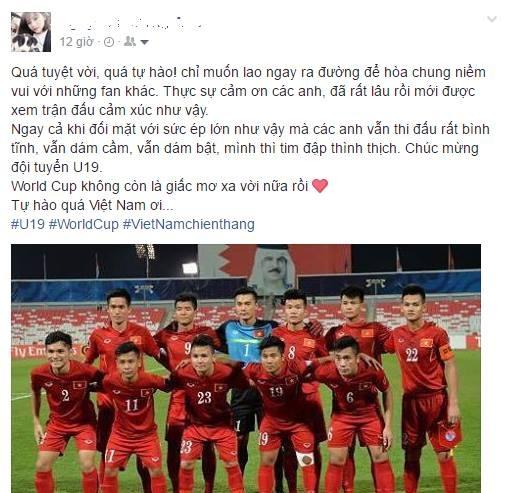 'Tim toi nhu vo oa voi chien thang cua U19 Viet Nam' hinh anh 2