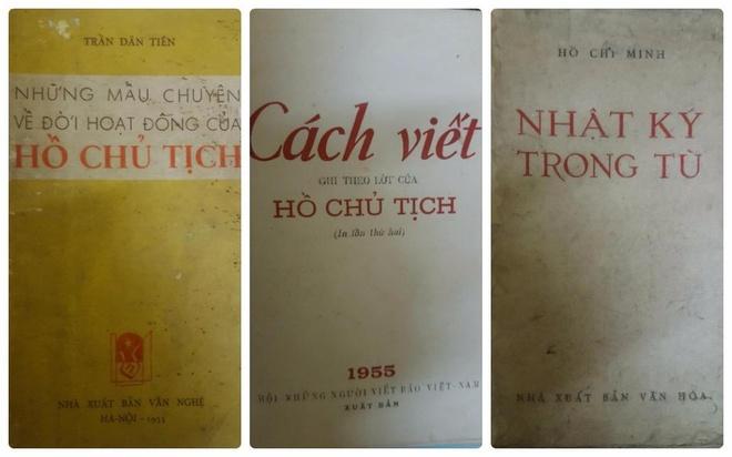 Trien lam sach ve Chu tich Ho Chi Minh tai hoi sach cu Ha Noi thang 5 hinh anh