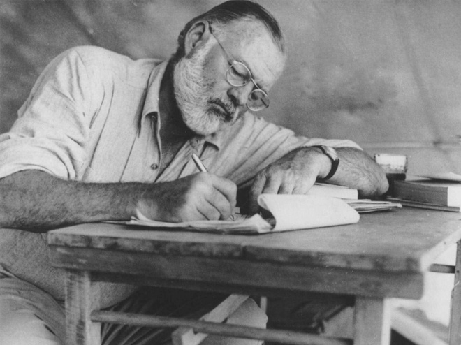 Xuat ban truyen ngan chua tung cong bo cua Ernest Hemingway hinh anh