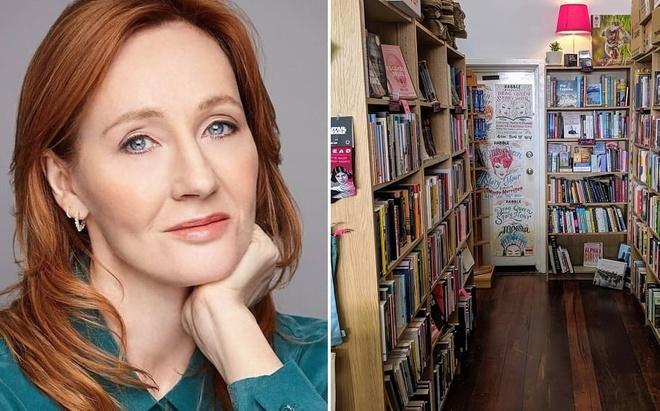 J. K. Rowling bi chi trich anh 1
