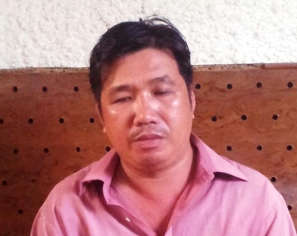 Vao tu vi lua 'chay an' cho pham nhan hinh anh 1 Nguyễn Văn Hải tại cơ quan công an. Ảnh Minh Anh