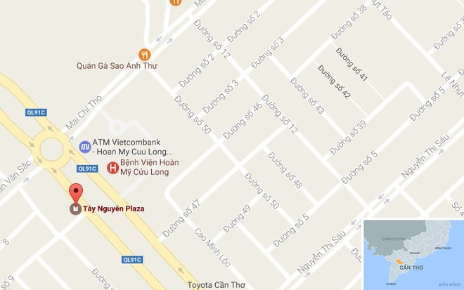 Canh sat triet pha song bac tai Tay Nguyen Plaza hinh anh 3