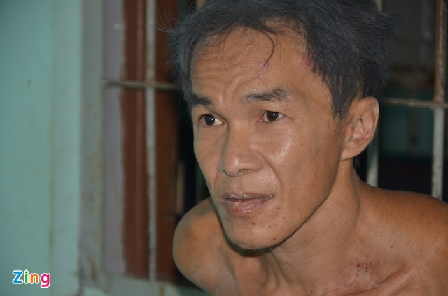 Nghi can giet nguoi phan xac, chem truong cong an la nguoi nghien ruou hinh anh
