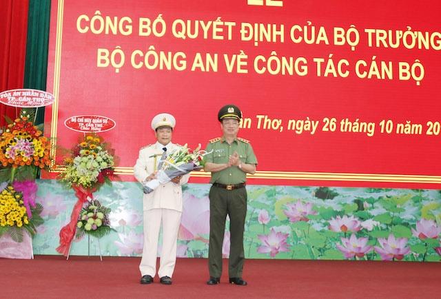 Đại tá Nguyễn Văn Thuận giữ chức Giám đốc Công an TP Cần Thơ