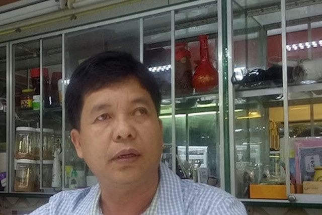 Chu tiem vang Thao Luc dieu chinh don doi 20 vien kim cuong hinh anh
