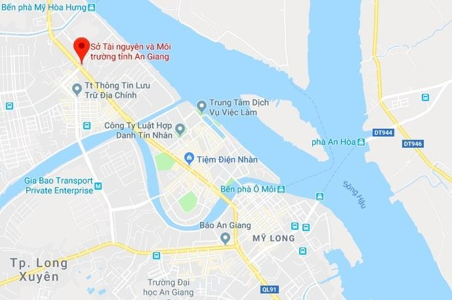 Ky luat canh cao Giam doc So Tai nguyen - Moi truong An Giang hinh anh 3