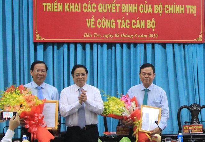 Ong Phan Van Mai giu chuc Bi thu Tinh uy Ben Tre hinh anh 1