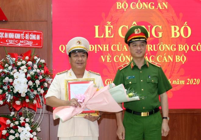 Tan giam doc Cong an Long An,  Giam doc Cong an Kien Giang anh 2