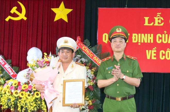Dai ta Dinh Van Noi giu chuc vu giam doc Cong an An Giang anh 1