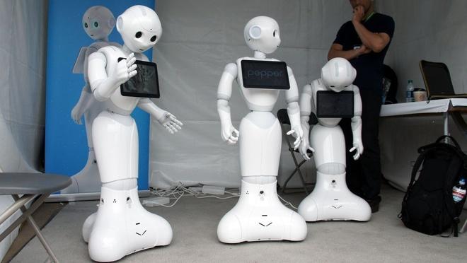 Nhung mau robot ki la tai CES 2018 hinh anh 5