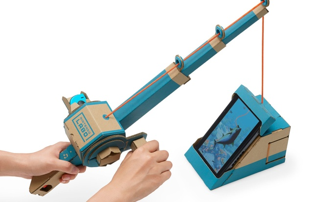 Can canh Nintendo Labo hinh anh