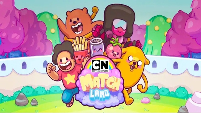Tro ve tuoi tho voi Cartoon Network Match Land hinh anh