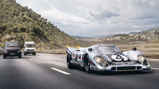 'Do' Porsche 917 hop phap de chay tren pho hinh anh