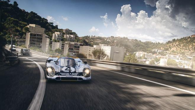 'Do' Porsche 917 hop phap de chay tren pho hinh anh 3